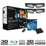 Mitsubishi 3DC-1000 3D HDTV Starter Pack (2010 Model)