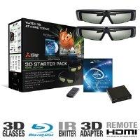 3d glasses for a mitsubishi tv - 3