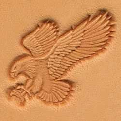 Tandy Leather Craftool Attack Eagle 3d Stamp 8514-00 by Tandy Leather
