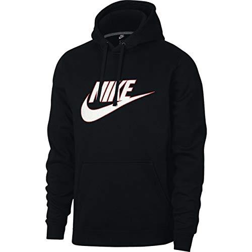 Nike Sportswear Futura Logo Hoodie Mens Style: NIKE-AJ6352-010 Size: XL Black