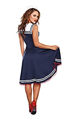 Dreamgirl Women's All Aboard Costume