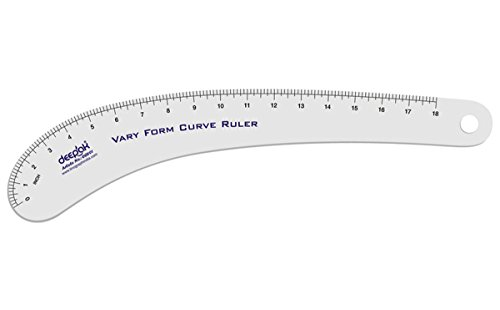 French Ship Curve Scale Metric Vary Form Curve Design Making Ruler