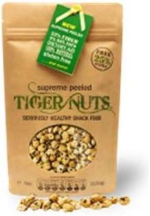 Tiger Nuts - Bolsa de 140 gramos de nueces peladas superior TIGER: Amazon.es: Alimentación y bebidas