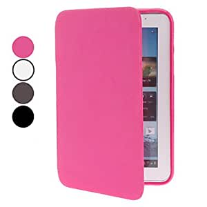 Solid Color PU Leather Full Body Case for Samsung Galaxy Tab2 7.0 P3100 (Assorted Colors) --- COLOR:White
