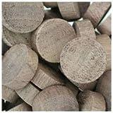 WIDGETCO 3/4'' Walnut Wood Plugs, End Grain