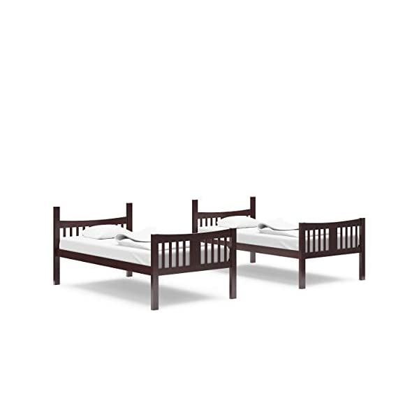 Storkcraft Caribou Solid Hardwood Twin Bunk Bed 3
