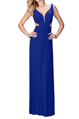 Missdressy - Vestido - trapecio - para mujer azul 40