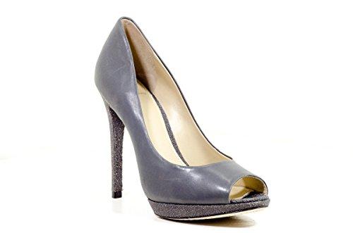 B Brian Atwood Fevora Sparkle Platform Peep Toe Pumps, Size 8/38.5EUR