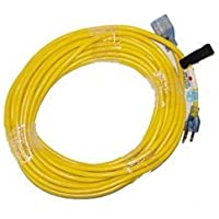 Zoom Supply ProTeam 101678 Extension Cord, Commercial-Grade Proteam Vacum Extension Cord -- 50 Yellow -- Avoid $$$ OSHA Fines & Employee WorkComp Lawsuits by ProTeam