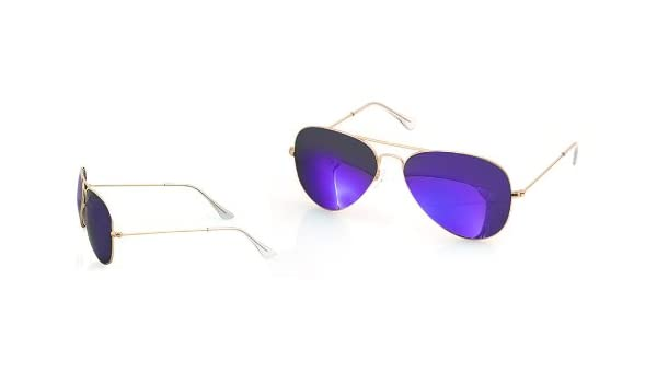 2f6f0e49aef AQS By Aquaswiss James Collection Mirrored Aviator Sunglasses  Amazon.ca   Clothing   Accessories