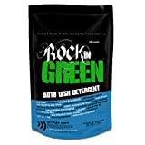 natural dishwasher - Rockin' Green Auto Dish Dishwasher Detergent - Natural Dishwasher Soap With Plant-Derived Enzymes and Scrubbing Agents - No Residue, No Water Spots AND No Dyes, Chlorine, or Toxic Junk (16 oz.)