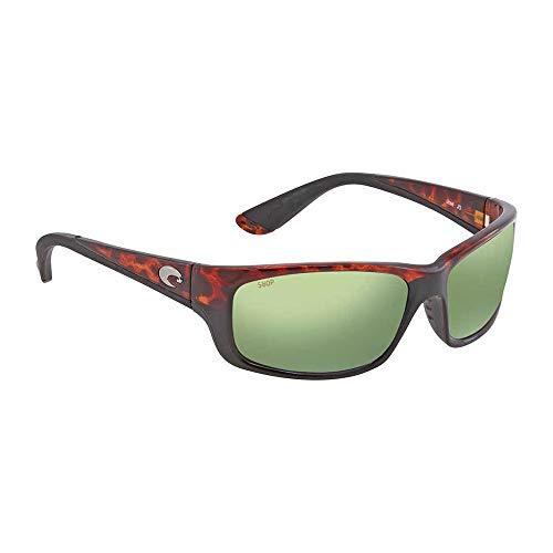 Costa Del Mar Jose Sunglasses, Tortoise, Green Mirror 580 Plastic Lens
