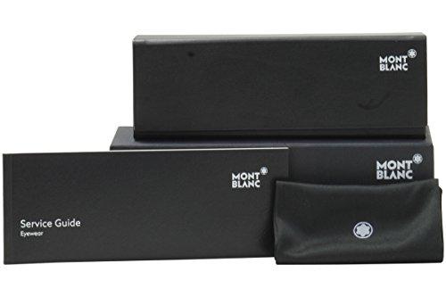 Montblanc MB0578 C58 008: Shiny gunmetal
