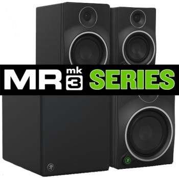 Mackie MRmk3 Powered Studio Monitors