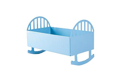 Blue Baby Cradle Keepsake - Cradle Infant Metal