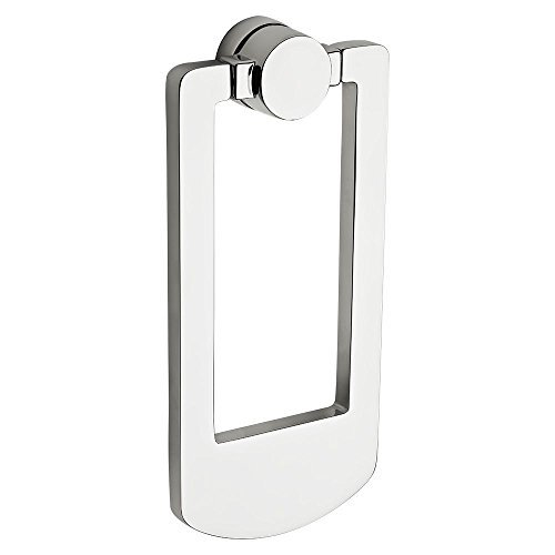 Baldwin 9BR7002-003 Contemporary Knocker Color: Polished Chrome, Model: 9BR7002-003, Outdoor & Hardware Store Chrome Polished Knocker