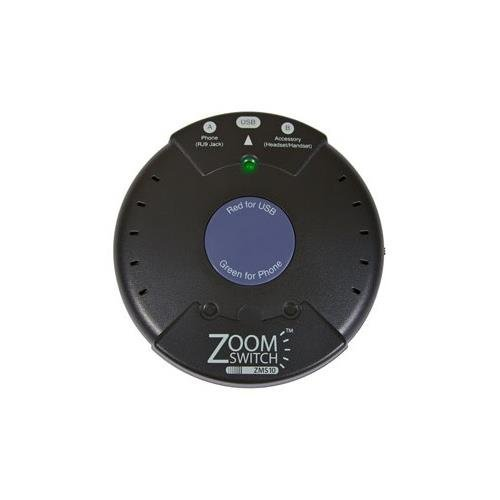 ZoomSwitch ZMS10-C ZMS10 Headset Adapter for Phone and (Zoomswitch Phone)