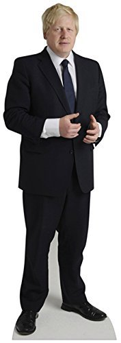 Star Cutouts Cut Out of Boris Johnson by Star Cutouts Ltd by Star Cutouts