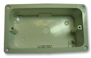 FLANGE BOX, 2GANG, 45MM, FLUSH MOUNT K2062WHI By MK (ELECTRIC) K2062WHI-MK (ELECTRIC)