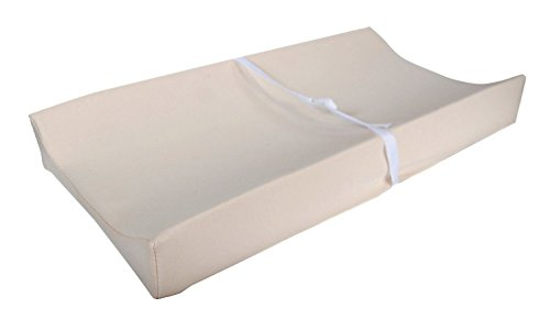 "Moonlight Slumber Little Dreamer Water Resistant 2-sided Contoured Changing Pad with Safety Straps + Organic Cotton Cover (32""L x 17""W x 1.5""H) by Moonlight Slumber"