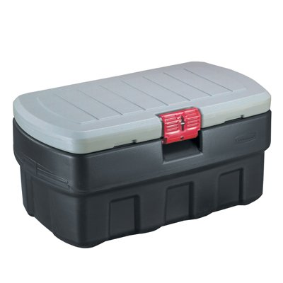 (Verified Exchange 35 Gallon Rubbermaid ActionPacker Storage Container 34.5