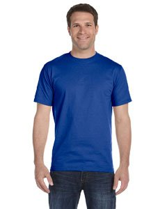 (Hanes Men's ComfortSoft T-Shirt, Royal Blue, 2XL)