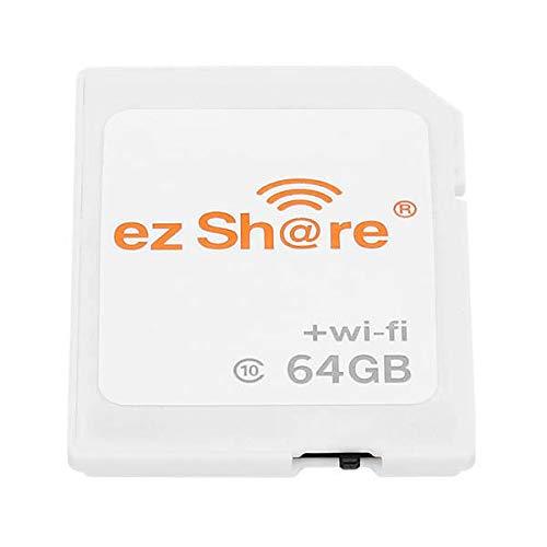 Ez Share 4th Generation 64GB C10 WiFi Wireless Memory Card: Amazon ...