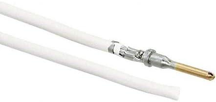 Pack of 100 0845240014-06-W9 6 PRE-CRIMP A1857//19 WHITE
