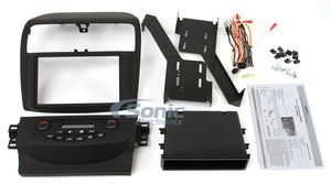 Metra 99-7809B Double/Single DIN Dash Kit for 2004 - 2008 Acura TSX without Navigation (Matte Black) by Metra (Image #2)