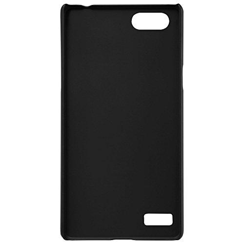 SDO-Slim-Matte-Finish-Rubberized-Hard-Back-Case-Cover-for-OPPO-Neo-7-Black