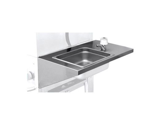 Crown Verity Removable Hand Sink - Crown Charcoal Grill
