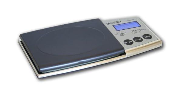 Kaminbau Mierzwa (df-shopping)  Báscula Digital de Bolsillo KL de 128/500 g - 0.1 g/6 Unidades de Cuna/Auto de Off/Función de Tara/Función de ...