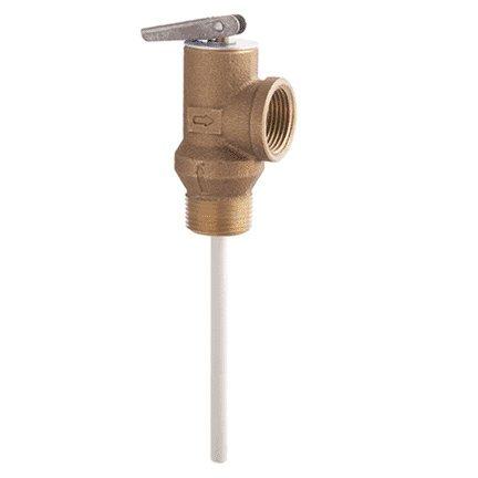 (Self-Closing 3/4 Inch (20 mm) Temperature and Pressure Relief Valve 100XL-150 Psi, 0066100)