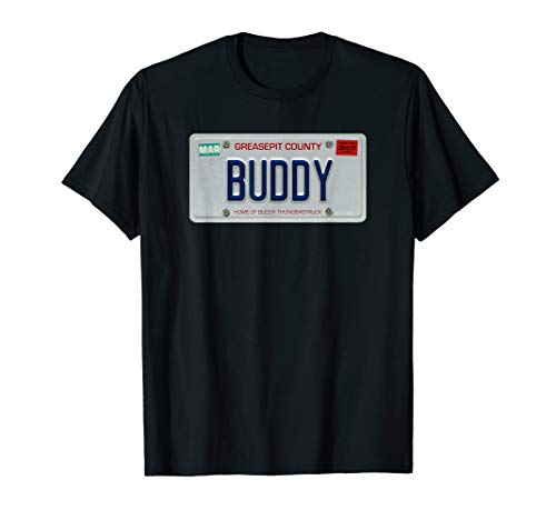 License Official Plate - Buddy Thunderstruck - Buddy License Plate