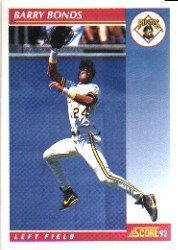 Amazoncom 1992 Score Barry Bonds Baseball Card In