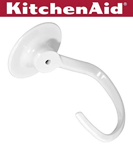 KitchenAid KN256CDH Coated Dough Hook  - Fits Bowl-Lift models KV25G and KP26M1X (Kitchenaid Mixer Bread Hook)