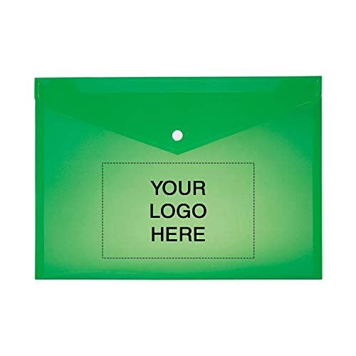 Custom Imprinted Envelopes - Protect-E-Lope Document Folder - 300 Qty - 2.03 Each - Customization Product Imprinted & Personalized Bulk with Your Custom Logo