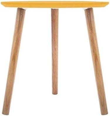 L 45 cm giallo Tavolino da caff/è Mileo Moutarde 60 x l 60 x H Atmosphera