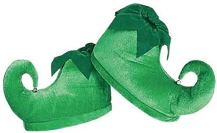 Rubies Costume Deluxe Elf Shoes, One
