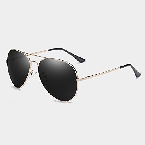 piloto plata gris calidad gold posterior Gafas Sunglasses mujeres Polaroid de hombres alta polarizadas sol gray lentes TL de 0AZq6