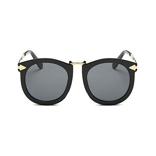 Aoligei Lunettes de soleil lunettes de soleil tendance Star flèche rétro Lady lunettes de soleil en métal awoaryz4