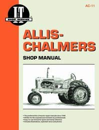 Allis Chalmers Miscellaneous Engine Service Manual (IT Shop)