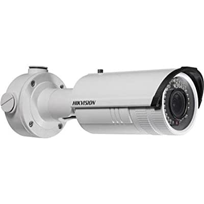 Hikvision DS-2CD2632F-I Outdoor IP Bullet Camera, 3MP/1080P, 2.8-12 mm Varifocal Lens, Day/Night, IP66 Standard, IR to 30M, POE/12VDC from Hikvision USA
