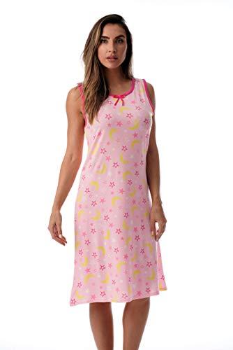 Just Love Womens Nightgown Sleep Dress 6700-10246-PNK-3X