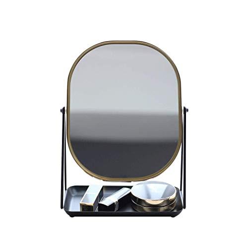 WENWEN Mirror Modern Scandinavian Style Bathroom HD Makeup Mirror Simple Bedroom to -