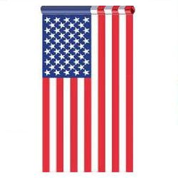 3 X 5 FT US American Flag Pole Sleeve Banner Style Highest Quality