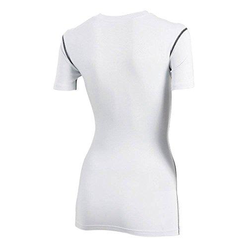 Womens sport aTHLETE smart sports t-shirt à manches courtes couche de base pour planche légère compression skins blanc xS-xL