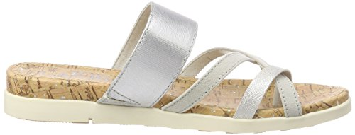 Mules Grey Gris Lt s 27111 Oliver Mujer para Comb wX0xnEaqS
