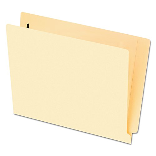- Pendaflex Smart Shield End-Tab Fastener Folders, Letter Size, Manila, 1 Bonded Fastener, 50/BX (62711)