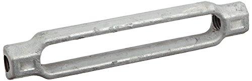 nized Steel Turnbuckle Body Only, 5/8